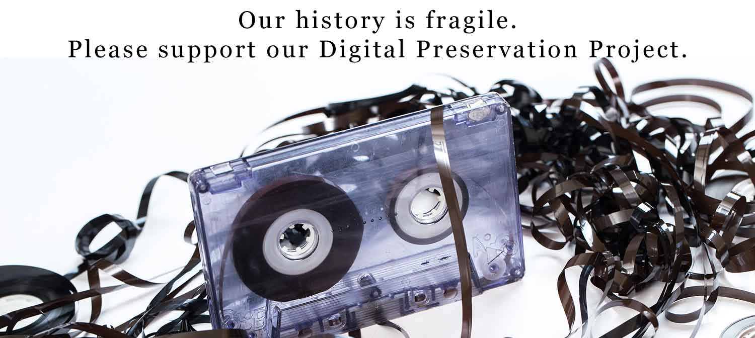Please support our digital preservation project