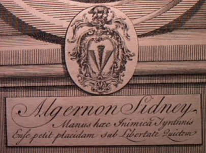 Algernon Sidney penned what became the motto of the State of Massachusetts. (WFC Collection)